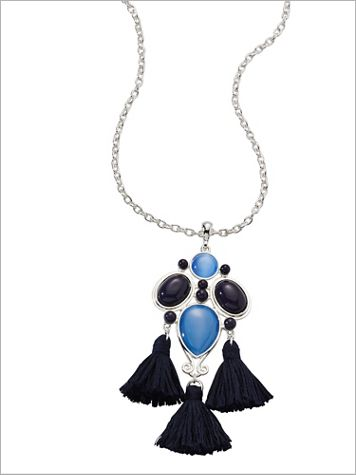 Tranquil Tassel Necklace - Image 1 of 3