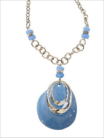 Seascape Pendant Necklace - Image 2 of 2