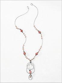 Coral Romance Necklace