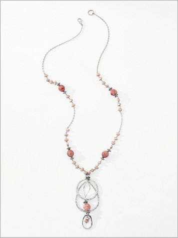 Coral Romance Necklace - Image 2 of 2