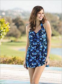 Print Swim Dress