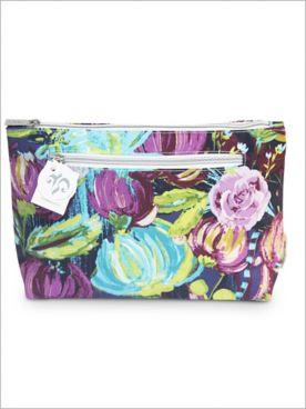 Purple Bells Cosmetic Bag