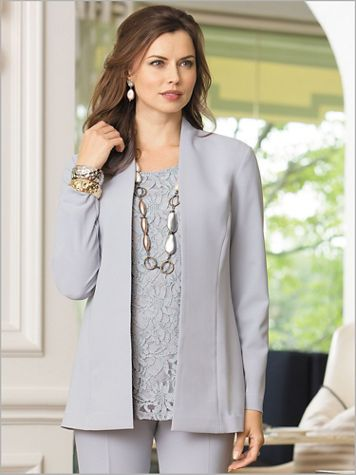Couture Crepe™ Jacket - Image 1 of 4