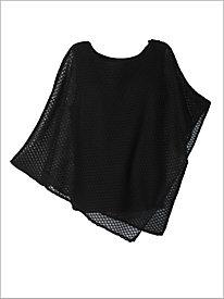 Crochet Mesh Poncho