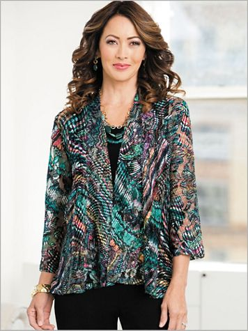 Carnivale Lace Mesh Jacket - Image 2 of 2