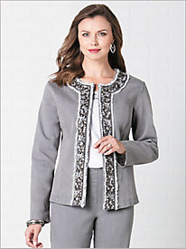 Slimtacular® Platinum Diamond Denim® Jacket