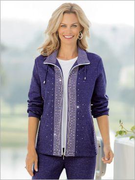 Mélange Knit Jacket by D&D Lifestyle™