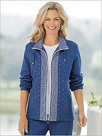 Mélange Knit Jacket by D&D Lifestyle