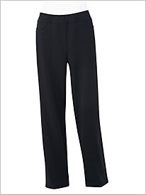 Everyday Stretch French Terry Pants by D&D Lifestyle&#8482
