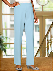 Couture Crepe&#8482 Pull-on Pants