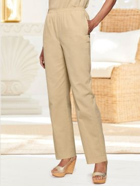 Mojave Straight Leg Pull-On Pants