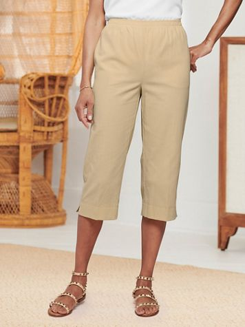 Mojave Pull-On Capris - Image 1 of 6