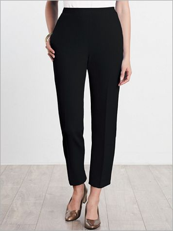 Look-Of-Linen Ankle Pants - Image 0 of 1