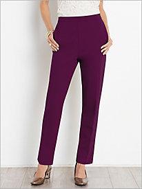 Slimtacular® Ponte Knit Ankle Pant