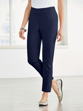 Slimtacular® Pull-On Ankle Pants
