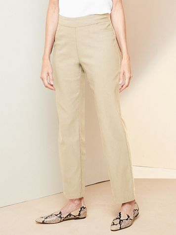 Slimtacular® Pull-On Ankle Pants - Image 1 of 5