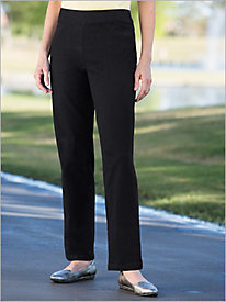 Slimtacular® Black Denim Pull On Pants