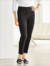 Slimtacular® Black Denim Ankle Pants