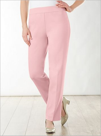 Pull-On Ponte Pants by Brownstone Studio® - Image 1 of 6