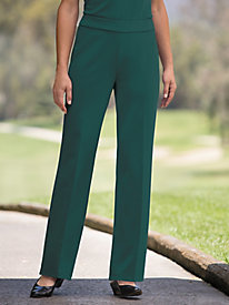Pull-On Ponte Knit Pants by Brownstone Studio®