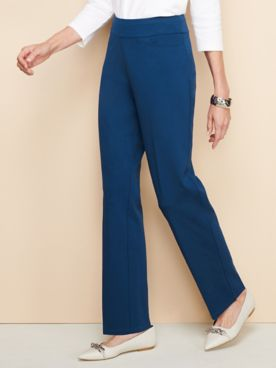 Slimtacular® Ponte Straight Leg Pull-On Pants
