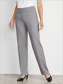 Slimtacular® New Straight Leg Ponte Pants