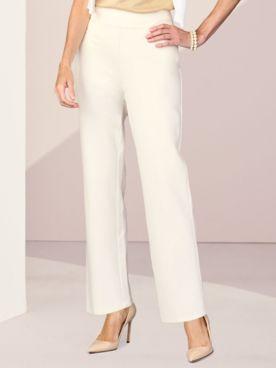 Slimtacular® Ponte Straight Leg Pull-On Pants