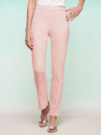 Slimtacular® Ultimate Fit Slim Leg Pull-On Pants - Image 1 of 15