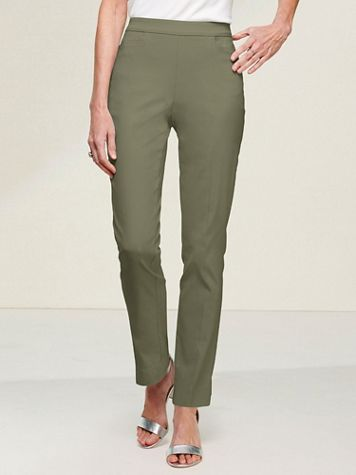 Slimtacular® Ultimate Fit Slim Leg Pull-On Pants - Image 1 of 16