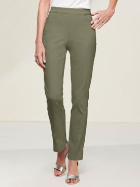 Slimtacular® Ultimate Fit Slim Leg Pull-On Pants
