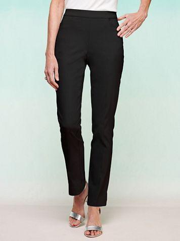 Slimtacular® Ultimate Fit Slim Leg Pull-On Pants - Image 1 of 10