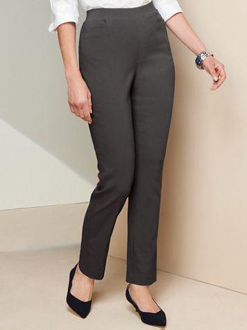 Slimtacular® Ultimate Fit Slim Leg Pull-On Pants - Image 1 of 12