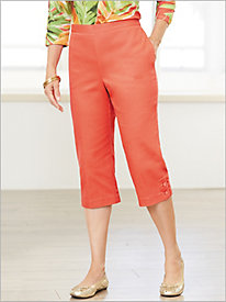 Parrot Cay Capris by Alfred Dunner