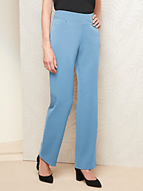 Bi-Stretch Straight Leg Pants