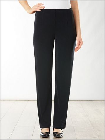 Signature Knits® Pull-On Pants - Image 4 of 4