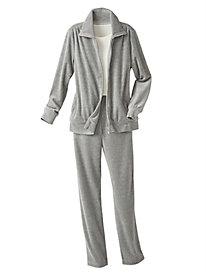 Velour Jacket & Pants Set by D&D Lifestyle™