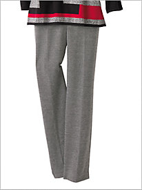 Textured Knit Pants by Alfred Dunner