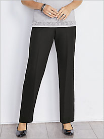 Crepe Pull-On Pants by Alfred Dunner