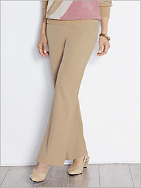 Twill Trousers by Alfred Dunner