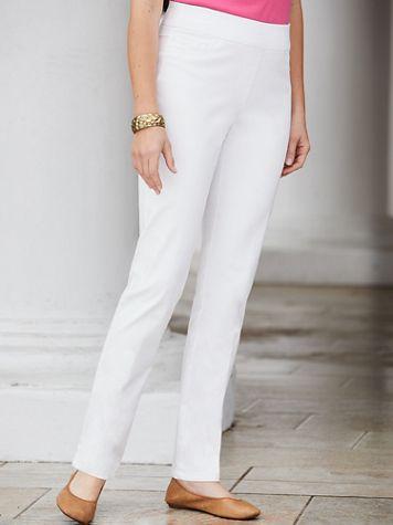 Slimtacular®  Slim-Leg Pull-On Denim Jean - Image 1 of 7