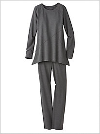 Easy Knit Tunic & Pants Set by D&D Lifestyle&#8482