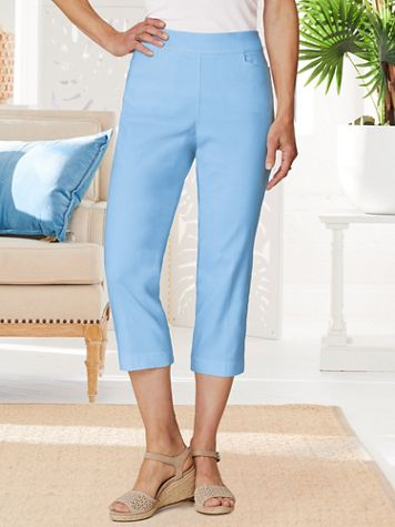 Slimtacular® Ultimate Fit Pull-On Capris - Image 1 of 8