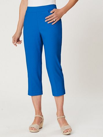 Slimtacular® Ultimate Fit Pull-On Capris - Image 1 of 7