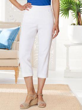 Slimtacular® Ultimate Fit Pull-On Capris