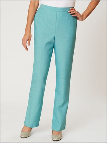 Textured Pull-On Pants by Alfred Dunner - Image 0 of 1