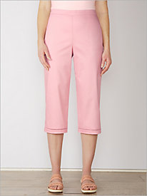 Society Page Capris by Alfred Dunner