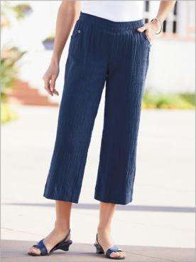 Keepsake Gauze Cropped Pants
