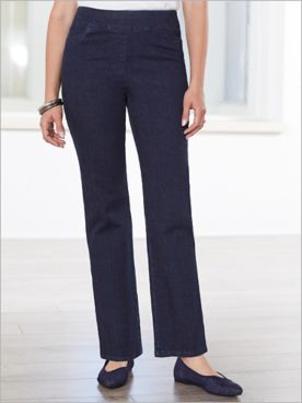 Slimtacular® Plaza Pearl Denim Pants