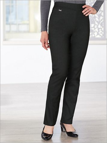 Tapered Leg Pull-On Pants by Picadilly - Image 0 of 1