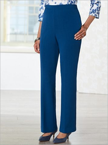 Sapphire Skies Crepe Pants by Alfred Dunner